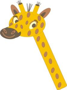 Giraffe seitlich